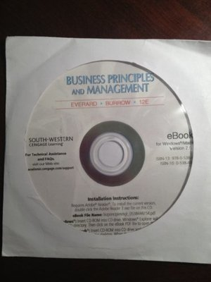 eBook on CD-ROM for Burrow/Kleindl's Business Principles and