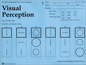 Visual Perception Test 25 Pk Modern Curriculum Press Vmi